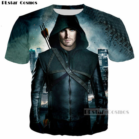 DC Arrow TV Show T-Shirt