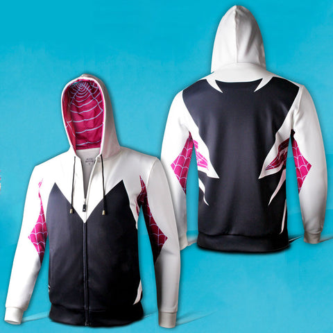 Marvel Spider-Woman Gwen Stacy Hoodie