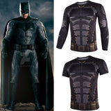 DC Justice League Short Sleeve and Long Sleeve Shirt