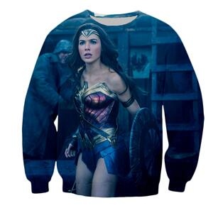 DC Wonder Woman The Movie (Gal Gadot) Jumper