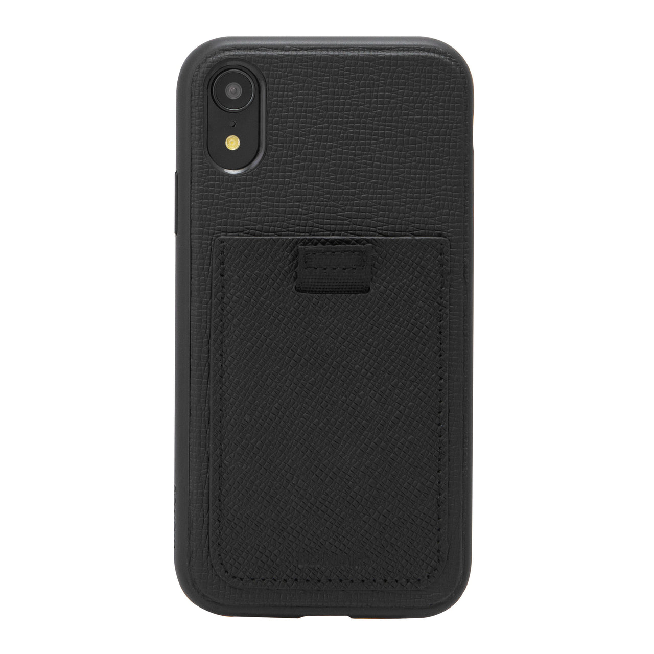 Black Leather Wallet Case, iPhone XR - Shop Bondir