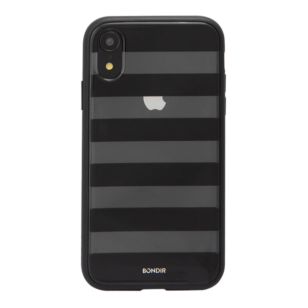Black Stripe Case, iPhone XR - Shop Bondir