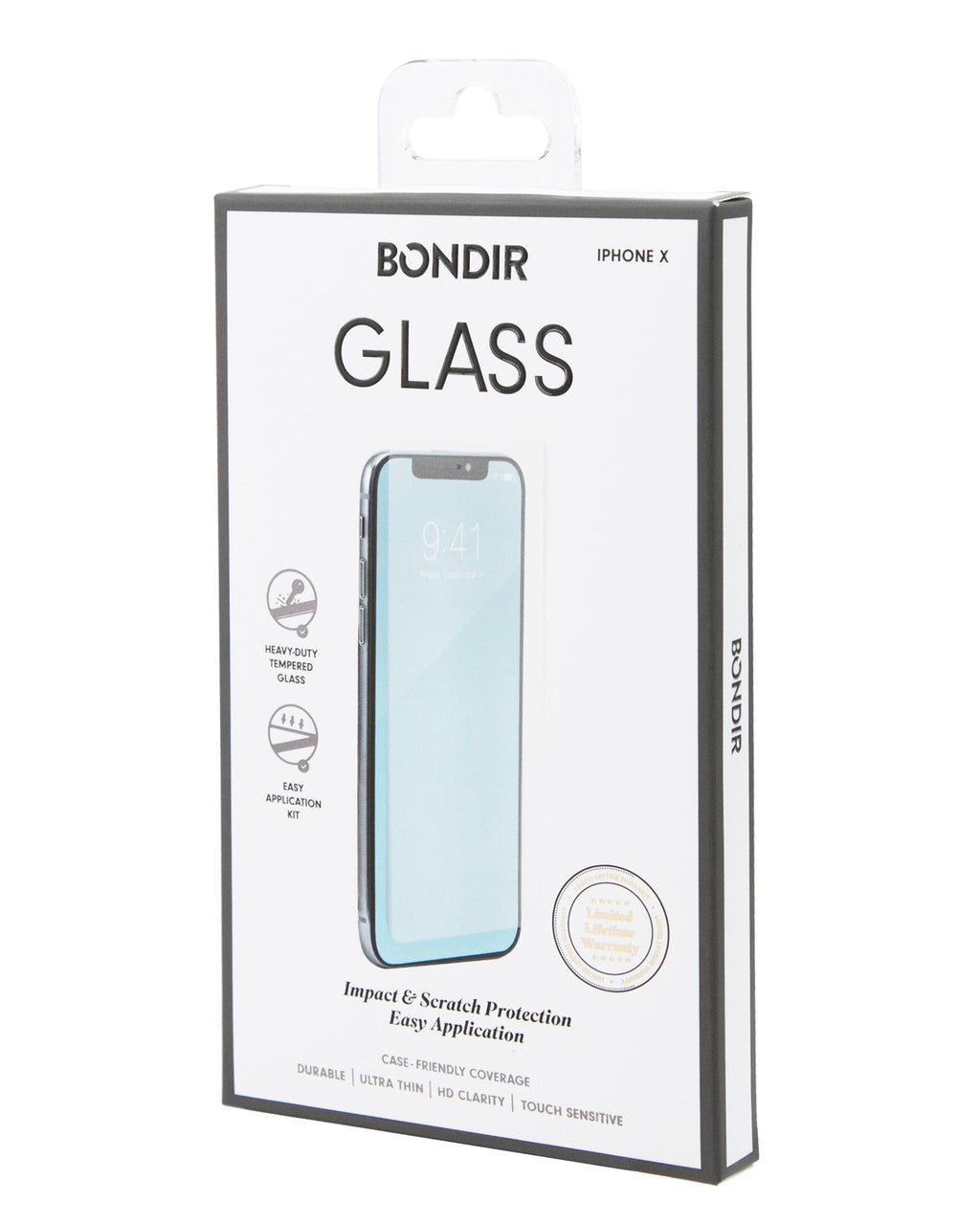 Screen Protection - Flatlay Glass Screen Protector (2-Pack), IPhone X/XS
