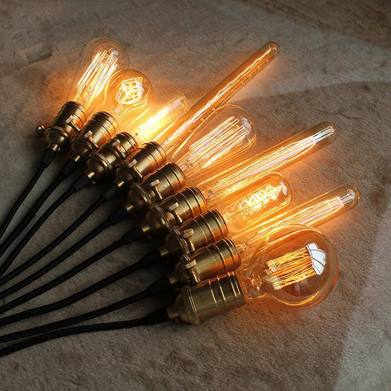 40W Antique Vintage Retro Edison Bulbs E27 Spiral Incandescent Light ST64 A19 G80 LED Edison Lamp For Pendant Lamp Lighting - ULTIMATE LED STORE || 50% OFF TODAY