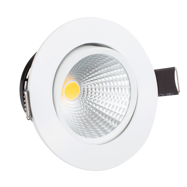 Mini Dimmable 3W LED COB Ceiling Light Recessed Spotlight Downlight Warm White AC 100-140V - ULTIMATE LED STORE || 50% OFF TODAY