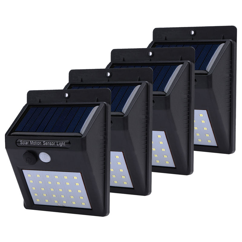 1-4pcs Solar Light 20/30 Leds PIR Motion Sensor Wireless Solar Lamp Outdoor Waterproof Garden Wall Yard Deck Security Light - ULTIMATE LED STORE || 50% OFF TODAY