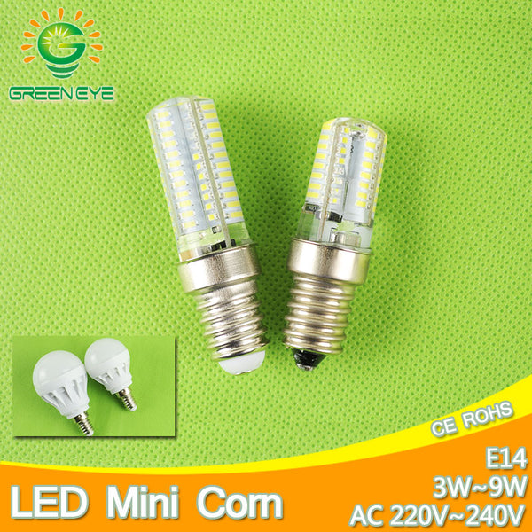 New Mini E14 LED Corn Bulb Light 9W 7W Led Bulb 3W 5W 220V Led Lamp E14 Cool Warm White Lampara LED Candle Spotlight Lampada