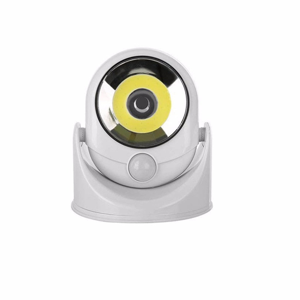 360degree Rotating LED Sensor Lamp Motion Activated Light Infrared Induction Lamp Wall Mounted Night Light For Outdoor Garden