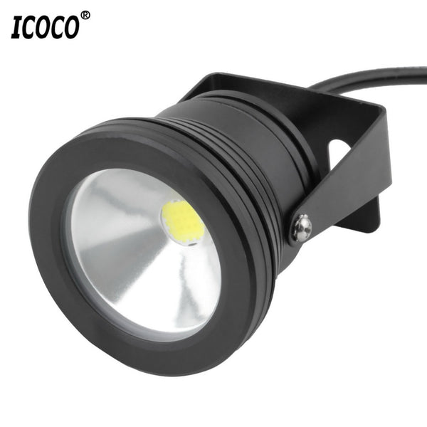 ICOCO 10W LED Swimming Pool Light Underwater Waterproof Lights Spot Lamp 12V Outdoor Flood Light IP68 for Pond Aquarium - ULTIMATE LED STORE || 50% OFF TODAY
