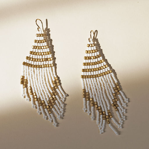 Cindy Borders Jewelry - Beaded Fringe Earrings