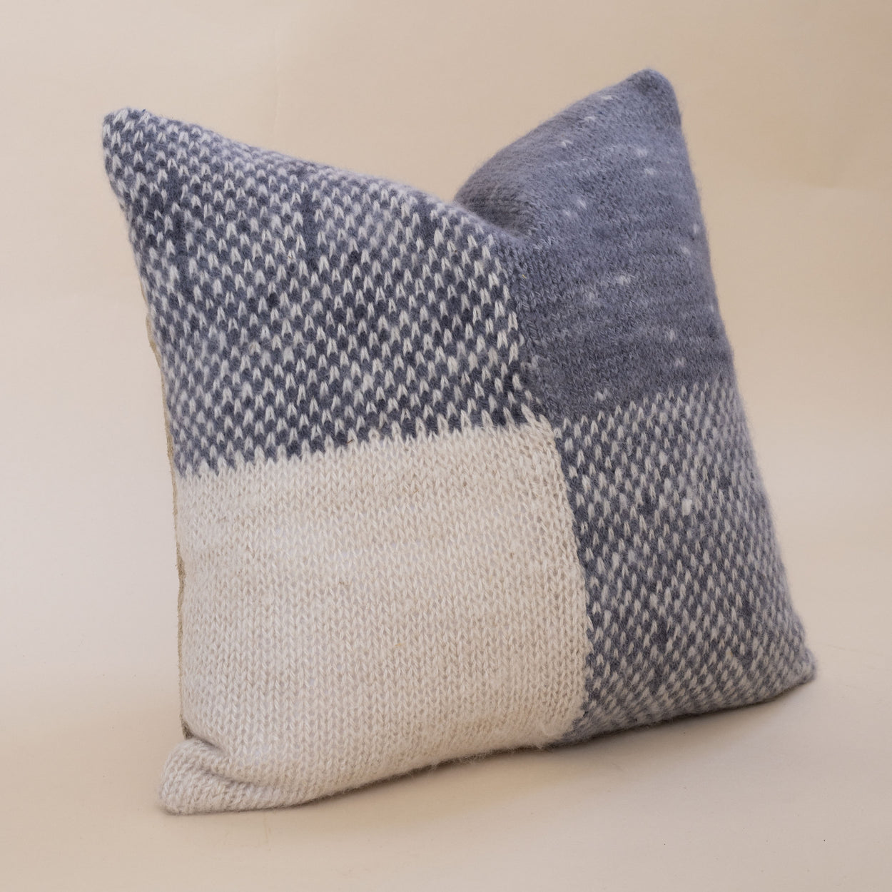 Storyteller Studio - Alpaca Gingham Pillow