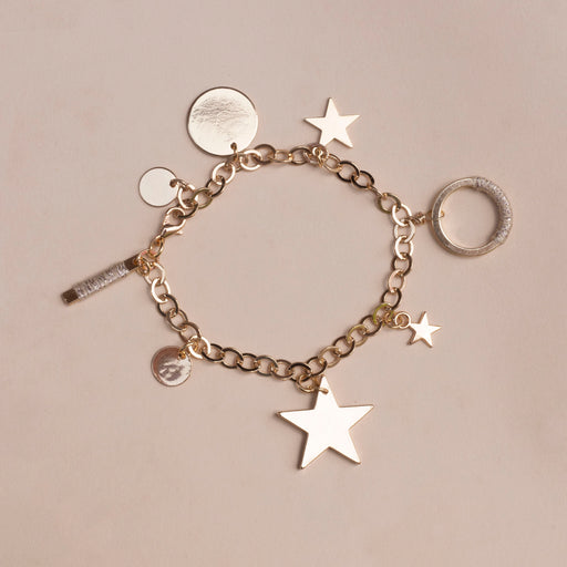 Somewhere Jewelry - Ivory Charm Bracelet