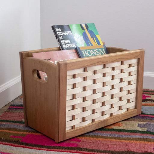 Berea College Craft - Cherry Magazine Rack