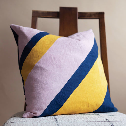 Storyteller Studio - Linen Desert Stripe Pillow