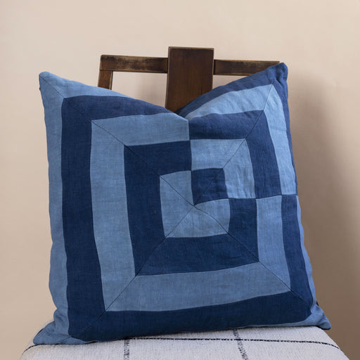 Storyteller Studio - Linen Maze Pillow