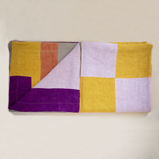 Storyteller Studio - Linen Abstract Picnic Blanket