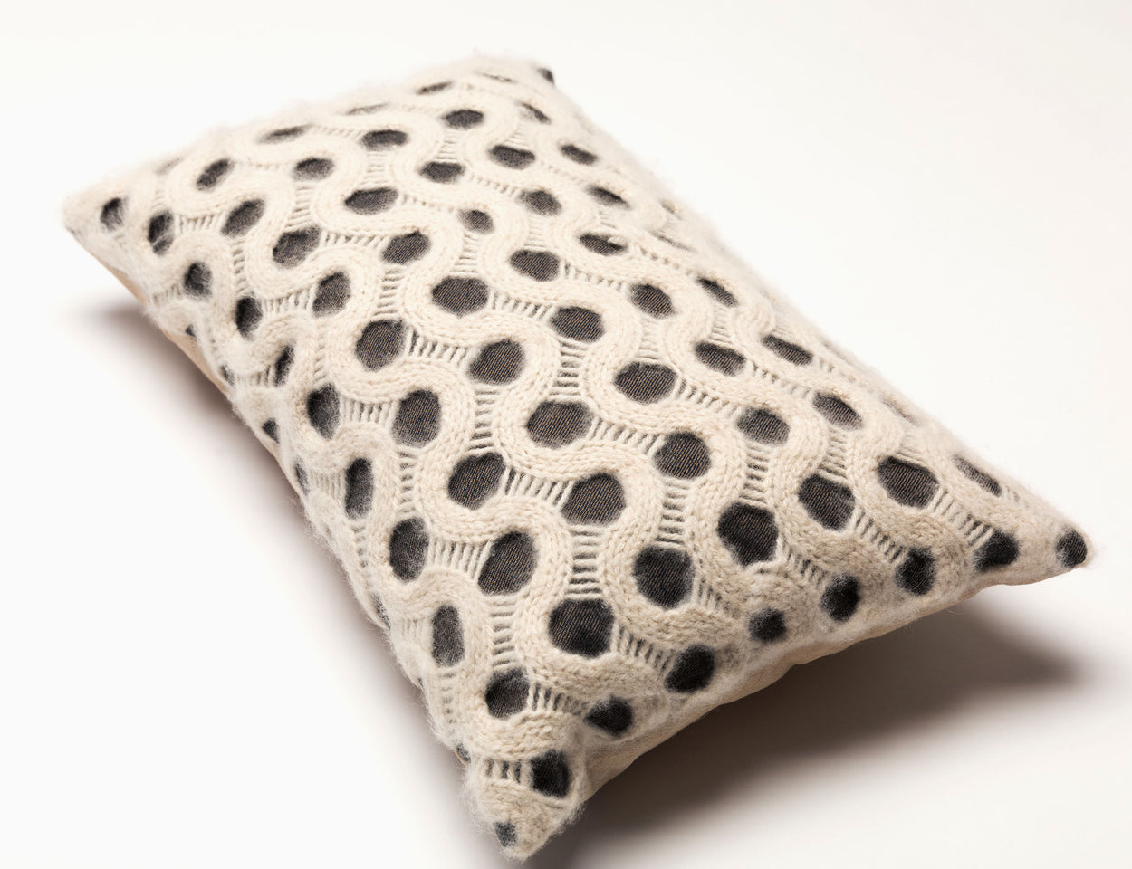 Storyteller Studio - Alpaca Wave Stitch Pillow