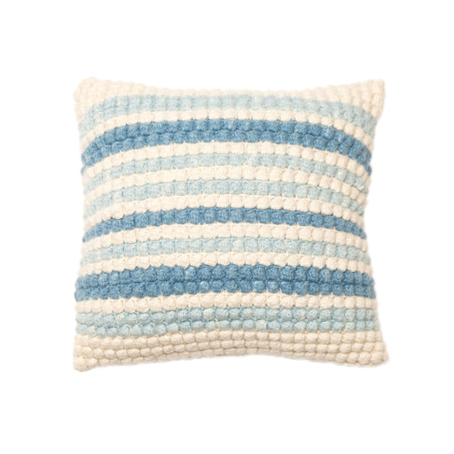 Alpaca Crochet Bobble Stitch Pillow