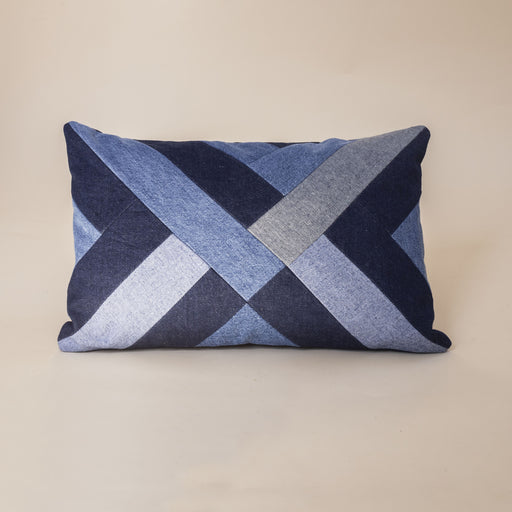 Storyteller Studio - Denim Twill Pillow