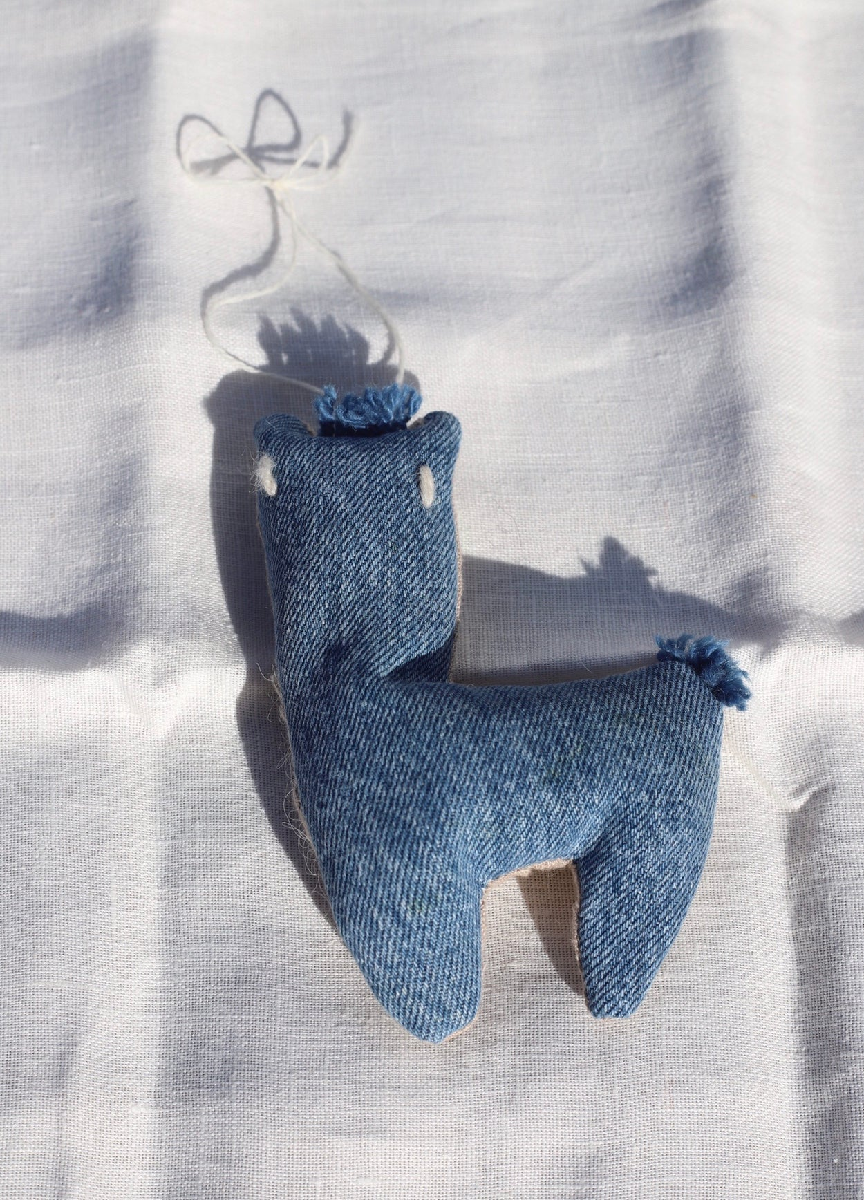 Indigo Alpaca Tree Ornament
