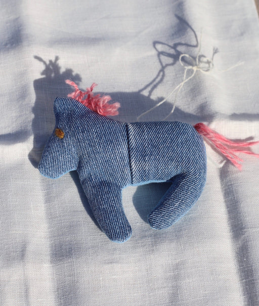 Pink Horsey Holiday ornament