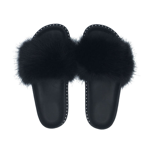 "CIABATTE FAUX FUR ""ASHLEY"""