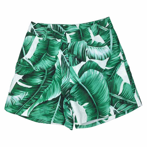 "SHORTS STAMPA BANANO LEAVES ""CLEO"""