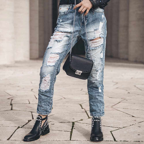 "JEANS BOYFRIEND FIT ""ANDY"""