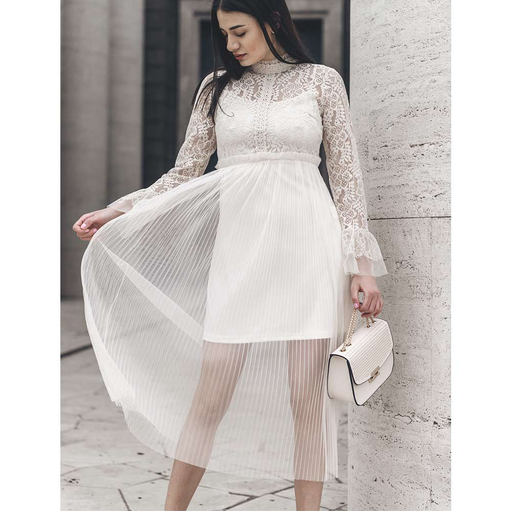 "ABITO IN PIZZO E TULLE ""MAY"""