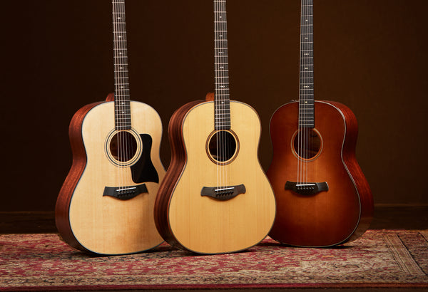 Learn More About Taylor's New Grand Pacific Guitars