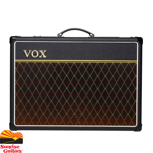 Sunrise Guitars in Fayetteville, Arkansas is proud to carry the Vox AC-15C1. The VOX AC15 is the amp that started it all. Boasting both a Normal and Top Boost channel, the AC15 Custom is an all-tube, EL84 driven workhorse that delivers 15 watts of authentic British tone into a genuine Celestion Greenback speaker.