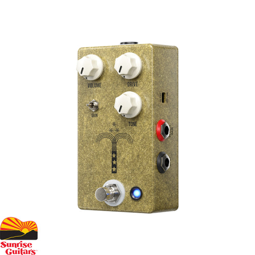 Sunrise Guitars in Fayetteville, Arkansas is proud to carry the JHS Morning Glory V4. Over the years the Morning Glory is undoubtedly their most known and praised overdrive pedal. It has won more awards and received more accolades than any other JHS pedal.