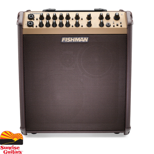 Sunrise Guitars in Fayetteville, Arkansas is proud to carry the Fishman Loudbox Performer with Bluetooth amplifier. The Loudbox Performer is our Fishman's powerful acoustic amplifier, allowing you to be heard in any situation — solo or ensemble.
