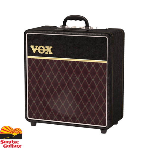Sunrise Guitars in Fayetteville, Arkansas is proud to carry the Vox AC4C1-12. Famous for its ability to achieve classic VOX tone at low volume levels, the AC4 is one of the most popular amps in VOX's lineup.