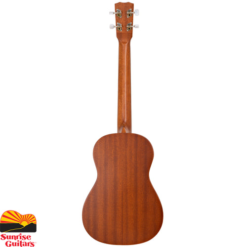 Sunrise Guitars in Fayetteville, Arkansas is proud to carry the Cordoba 20BM baritone ukulele. The 20 series ukuleles feature a solid mahogany top and mahogany back and sides.