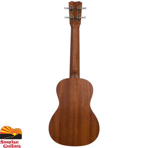 Sunrise Guitars in Fayetteville, Arkansas is proud to carry the Cordoba 20CM concert ukulele. The Cordoba 20CM is a concert size ukulele that features a solid mahogany top and mahogany back and sides.