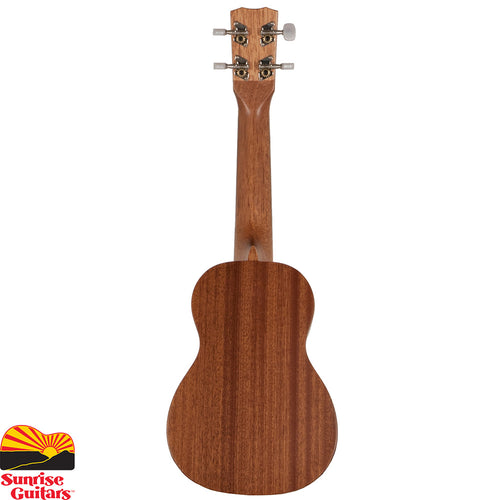 Sunrise Guitars in Fayetteville, Arkansas is proud to carry the Cordoba 20SM soprano ukulele. The 20 series ukuleles feature a solid mahogany top and mahogany back and sides.