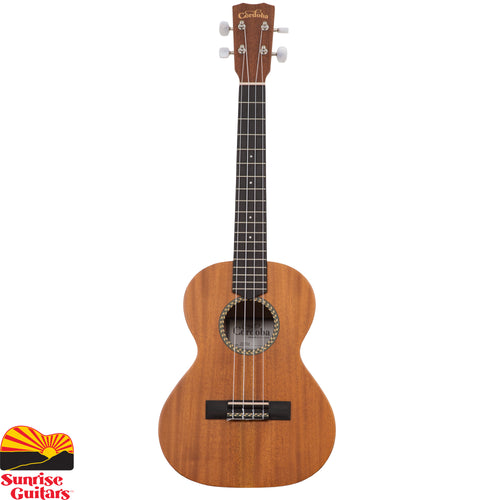 Sunrise Guitars in Fayetteville, Arkansas is proud to carry the Cordoba 20TM tenor ukulele. The 20 series ukuleles feature a solid mahogany top and mahogany back and sides.