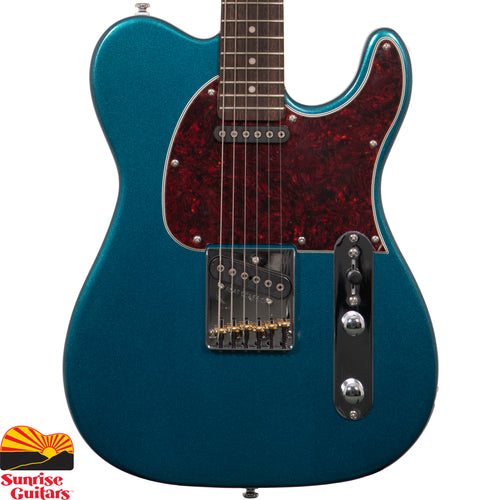 Sunrise Guitars in Fayetteville, Arkansas is proud to carry the G&L Tribute ASAT Classic Butterscotch Blonde electric guitar. The G&L ASAT Classic is Leo's final word on the traditional single-cutaway bolt-on axe. Framed in a classic boxed-steel bridge, the single-coil Magnetic Field Design bridge pickup created by Leo Fender delivers crisp attack with complex harmonics while individual brass saddles offer modern levels of intonation refinement.