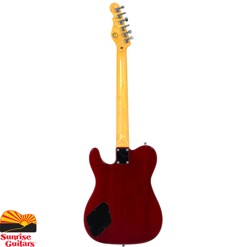 G&L Tribute ASAT Junior II Trans Red