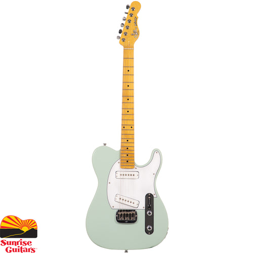 Sunrise Guitars in Fayetteville, Arkansas is proud to carry the G&L Tribute ASAT Special Surf Green electric guitar. The G&L ASAT Special just might be the quintessential G&L guitar, viewed by many as Leo's ultimate single-cutaway.
