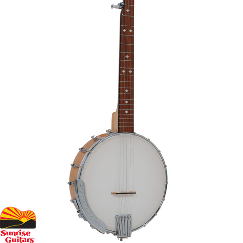Sunrise Guitars in Fayetteville, Arkansas is proud to carry the Gold Tone CC-100 openback banjo. A Gold Tone mainstay for decades, over twenty-five thousand Cripple Creek banjo have been sent into Banjoland to bring happiness to pickers around the world.