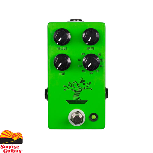 Sunrise Guitars in Fayetteville, Arkansas is proud to carry the JHS Bonsai pedal. In the late 1970's the overdrive pedal was arguably perfected when Japanese engineers designed the sound that we now know as the heart and soul of so many of our favorite artists, recordings and sounds.