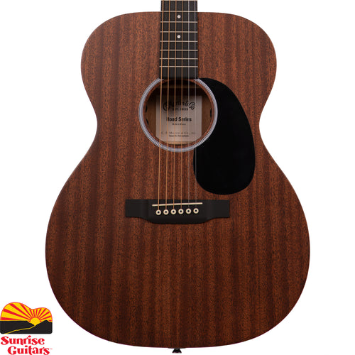 Sunrise Guitars in Fayetteville, Arkansas is proud to carry the Martin 000-10E acoustic guitar. A great solid-wood Martin at an affordable price. Constructed with sapele and equipped with Fishman MX-T electronics, this stage-ready Auditorium model produces the perfect blend of volume and balance.