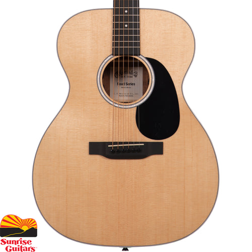Sunrise Guitars in Fayetteville, Arkansas is proud to carry the Martin 000-13E acoustic guitar. With a gorgeous glossed Sitka spruce top and siris back and sides, this solid wood Auditorium model is a great sounding guitar at an affordable price.