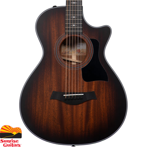 Sunrise Guitars in Fayetteville, Arkansas is proud to carry the Taylor 362ce acoustic guitar. Taylor's Grand Concert 12-string guitars have been a revelation to players who've otherwise avoided 12-string due to their traditionally bulkier size.