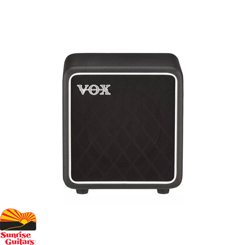 Sunrise Guitars in Fayetteville, Arkansas is proud to carry the Vox BC108 cabinet.  The ideal companion for the MV50, the BC108 is a compact, portable cabinet that is designed to enhance the low-frequency range to ensure rich, full guitar tone at any volume.