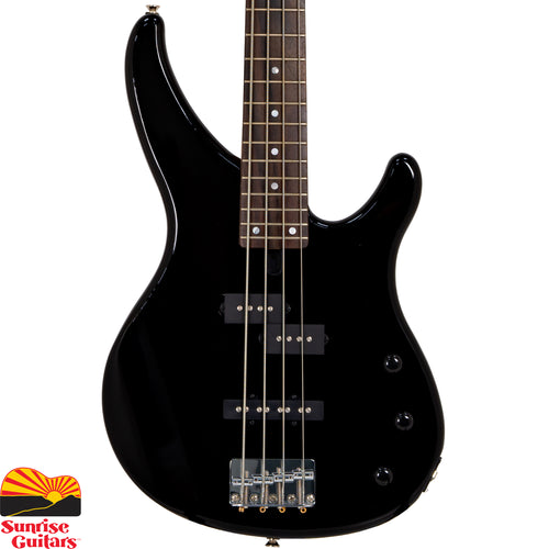 Sunrise Guitars in Fayetteville, Arkansas is proud to carry the Yamaha TRBX174 Black bass guitar. The TRBX174 represents a price breakthrough for the TRBX range, yet the quality is everything you'd expect from a Yamaha bass.