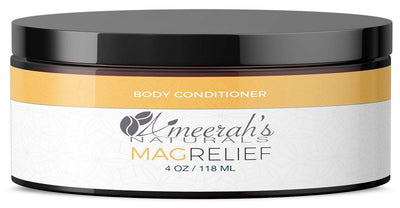 Magnesium Relief Body Conditioner - In Shower Lotion 4 ozs / 1 Jar All Natural Body Conditioner Ameerah's Naturals