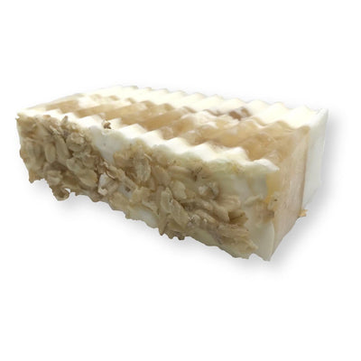 Oatmeal Honey & Goat Milk Soap Bar Ameerah's Naturals